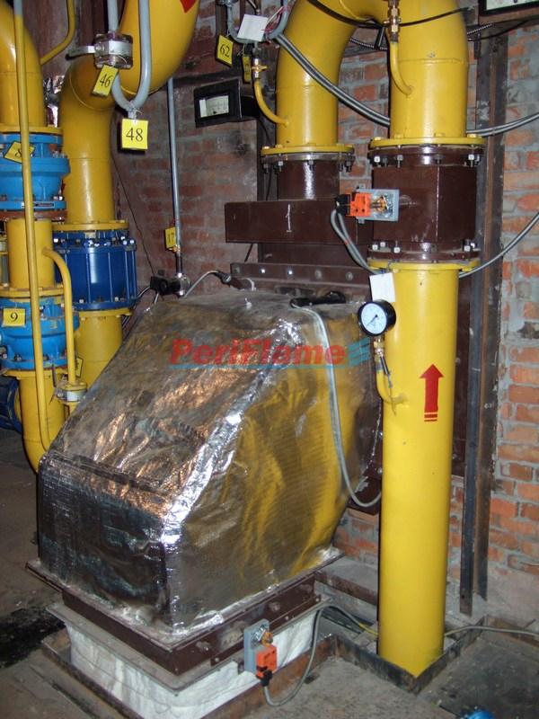 Steam boiler-Dual Gas Burner MD-2000-2g