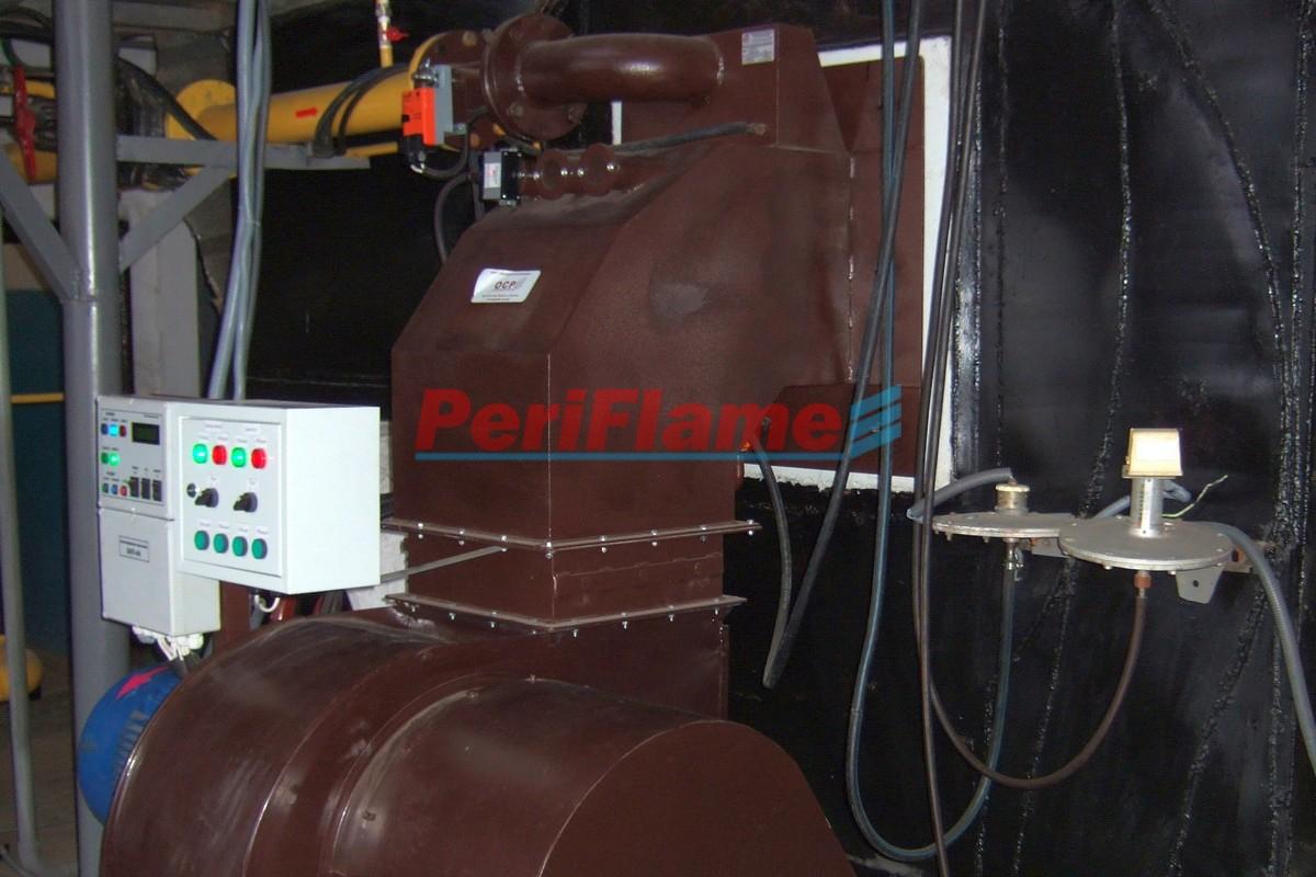 Steam boiler-Gas Burner MD-1200-G-b
