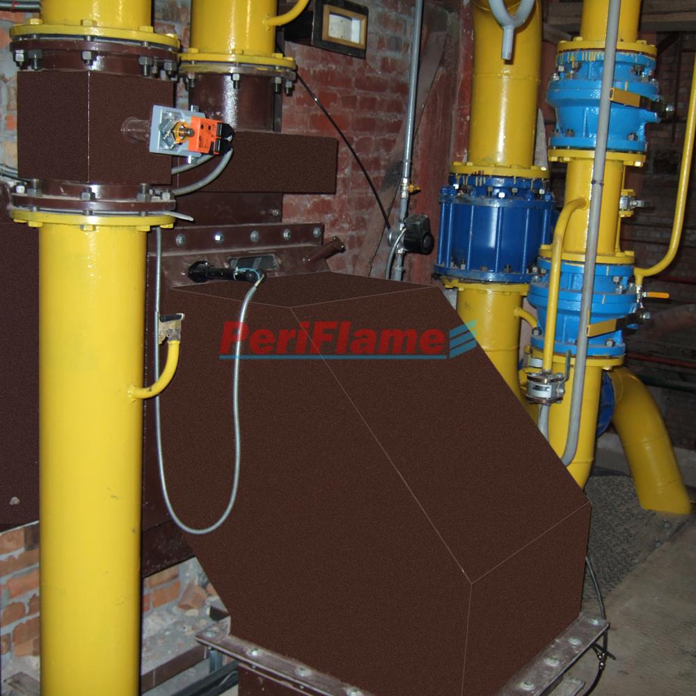 Steam boiler-MD-2000-G gas_biogas burner (dual-fuel)