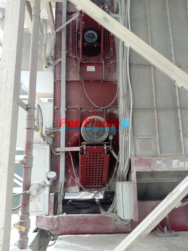 MD burners operated on Mathews Grain Dryer